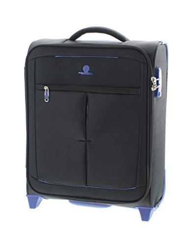 Pianeta Trolley baule valigia, trolley da viaggio bagaglio per il viaggio morbido (nero M)