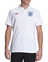 Umbro England Home – Camiseta Fútbol Inglaterra domicle blanco, ...