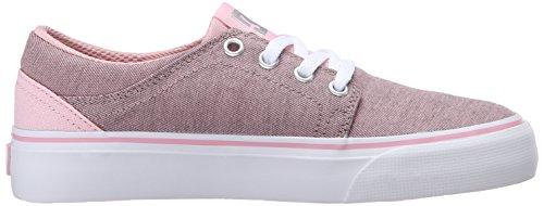 DC - Trasé Tx Se chaussures de garçon Pink/White
