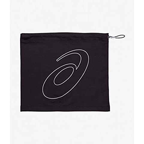 Asics Logo Tube Bonnet Mixte Adulte, Performance Black, FR : Taille Unique (Taille Fabricant : Taille Unique)