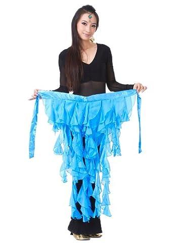 Fox Costume De Danse - Dance Fairy Fox Lake bleu feuilles mousseline