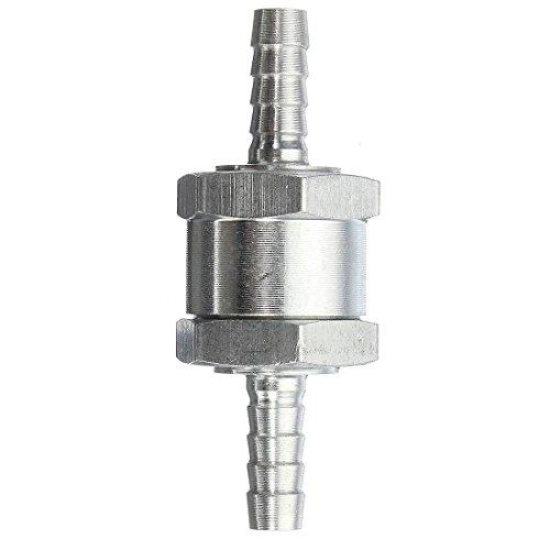Clapet - TOOGOO(R)Clapet Anti-retour Valve a Carburant Gasoil Diesel Aluminium 6mm