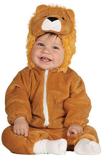 (Baby Mädchen Junge Lion Dschungel King Tier Wild TV Cartoon Film World Fancy Kinderzimmer Verkleidung Kostüm Kleidung 6-12-24 Monate - Braun, 6-12 Months)