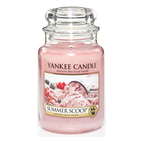 Yankee Candle Glaskerze, groß, Summer Scoop