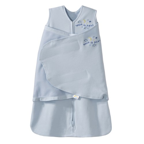 Halo Unisex Baby Sleepsack Swaddle Cotton Sleepsuits Blue 3 -...