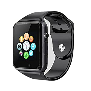 Bluetooth Smartwatch, aimion Smart Watches Unlocked Watch Phone can Call and Text with TouchScreen Camera Notification Sync Compatible for Android and iOS phone(App Unavailable)