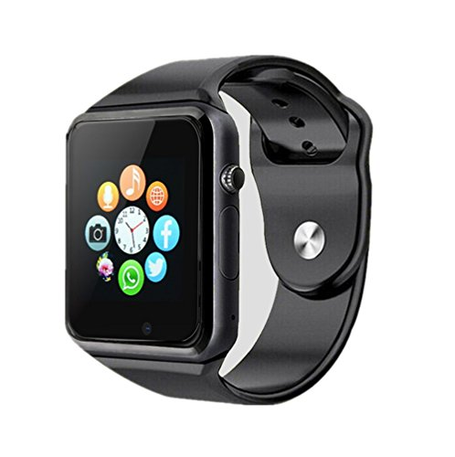Bluetooth Smartwatch Unlocked Watch Phone can Call and Text with TouchScreen Camera Notification Compatible for Android SumSung Huawei and IOS Phone(App Unavailable)