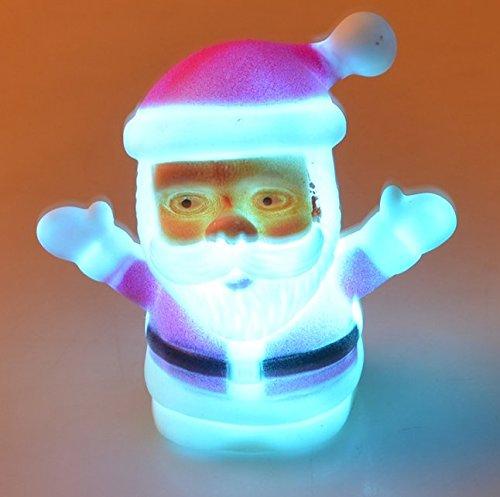 UChic 1 STÜCKE LED licht Leuchtende Weihnachtsmann Weihnachtsschmuck Für Zuhause Weihnachtsschmuck Puppe Neujahr kinder Geschenke