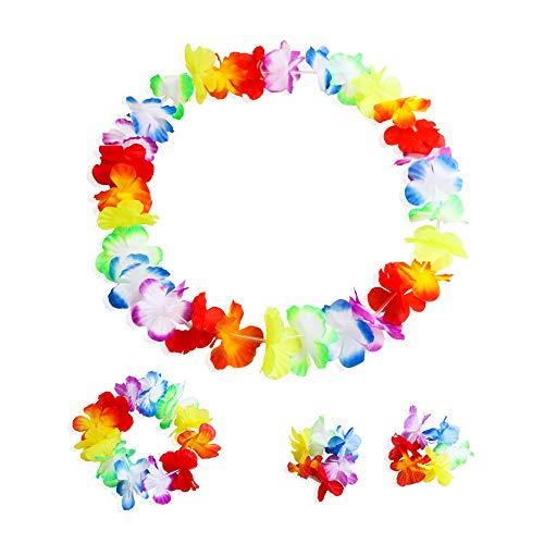 Lei Hawaiianische Luau-Blume, für Partys