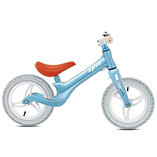 XT-Balance Fahrrad Kind Balance Fahrrad 2-6 Jahre Jungen und Mädchen, Reiten Spielzeug Super Soft Sattel und Verstellbarer Sitz 12