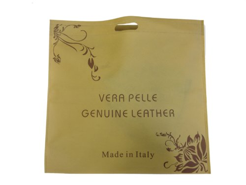 Made Italy, Borsa a spalla donna Marrone (blu scuro)