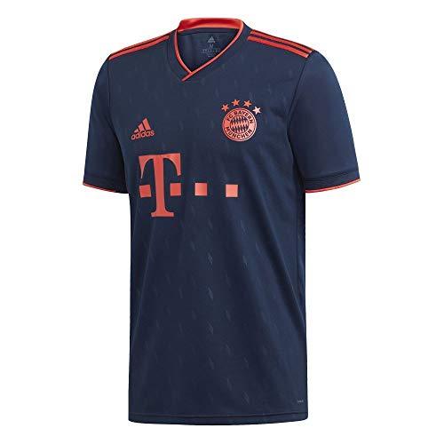 adidas Kinder FC Bayern 19/20 3rd Fußballtrikot blau 152