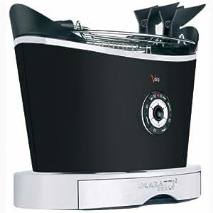 Casa Bugatti Grille-Pain 13-VOLON Noir, 930 W