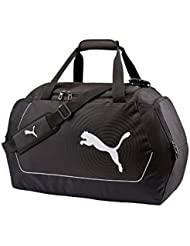 PUMA Sporttasche Evopower Medium Bag - Bolsa para botas de fútbol, color negro, blanco, talla 63 x 33 x 26 cm
