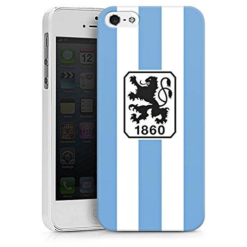 Apple iPhone X Silikon Hülle Case Schutzhülle TSV 1860 München Fanartikel Fußball Hard Case weiß