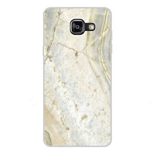 Todo Phone Store Custodia Cover [Disegno] Silicone TPU Gel [Tessitura 044] per [Samsung A5 (2016) A510F]