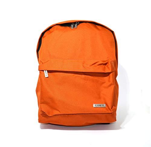 COMIX - Zaino Americano Monocolore Arancio