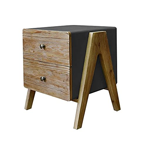 Teton Home AF-139 Wooden Side/End Table with Rectangular Top