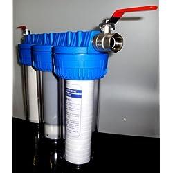 Filtre à eau contre les bactéries et germes pour eau de source ou eau de pluie. Type de filtre:T.