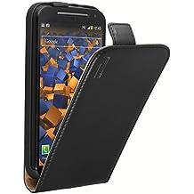 Mumbi Flip Cover - Funda para Motorola Moto G, negro