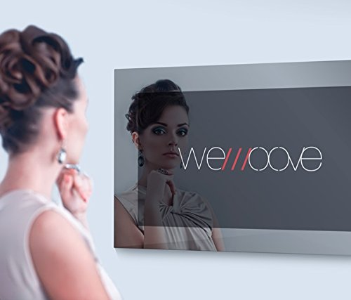 21 5   Waterproof Mirror TV with vibrant and invisible speakers - WEMOOVE WM-ISFMTV221HEVC - new model 2018