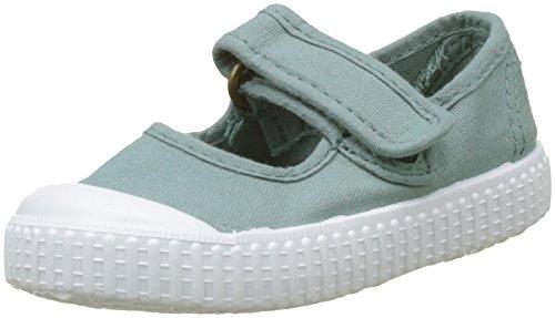 victoria Unisex-Kinder Mercedes Velcro Tintada Sneaker, Grün (Jade), 24 EU (Jade Grün Schuhe)