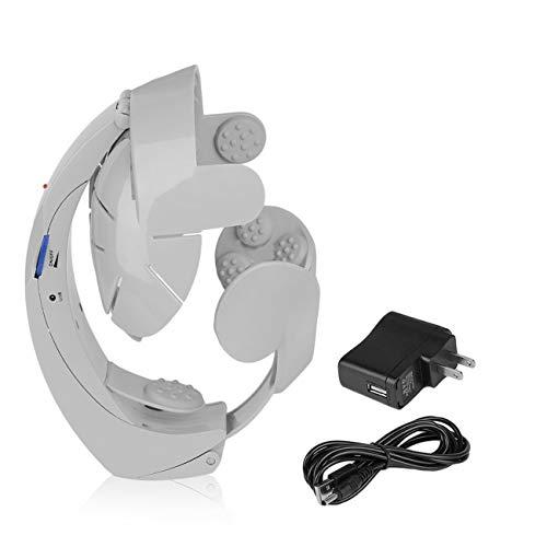 Elektrische Kopfmassagegerät Brain Massage Relax Akupunkturpunkte Grey Fashion