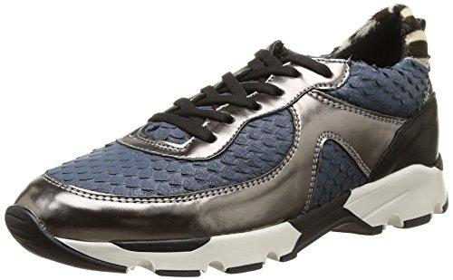 Eden Dado, Damen Sneakers Blau - Blau (Marineblau)
