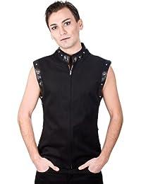 Aderlass Rockstar Vest Denim Black (Noir)