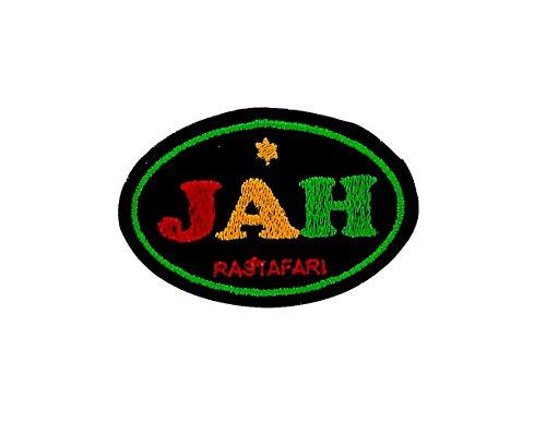 Patch Ecusson-gesticktem zum Aufbügeln Backpack Rasta Reggae Äthiopien Löwe Jah (äthiopien Patch)