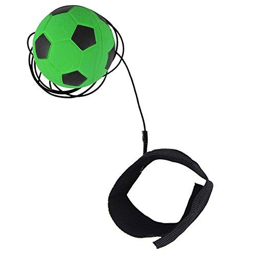 Fansport 2.48in Handgelenk Band Ball Gummi Bouncing Stress Relief Ball Rebound Ball Spielzeug FüR Das Training