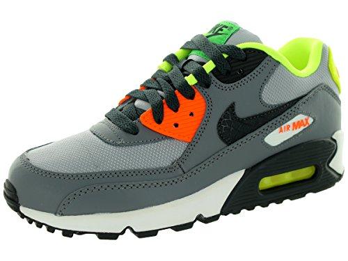 Air Nike Jungen Sneakers Max (Nike Air Max 90, Jungen Sneaker, Grau - Grau - Größe: EU 37.5)