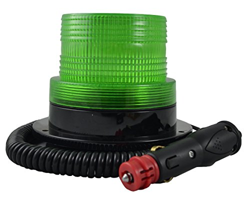 JBM 52946Rundumleuchte Blinklicht Profil unten–Grün (Unten Grün)