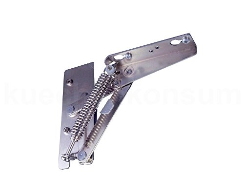 1 Paar Kinvaro T 57 Klappenbeschlag verstellbar links rechts 240 N Gewichtsanpassung (Verstellbare Klappe)