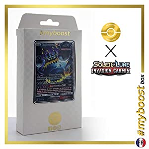 Engloutyran-GX (Guzzlord-GX) 63/111 - #myboost X Soleil & Lune 4 Invasion Carmin - Box de 10 Cartas Pokémon Francés