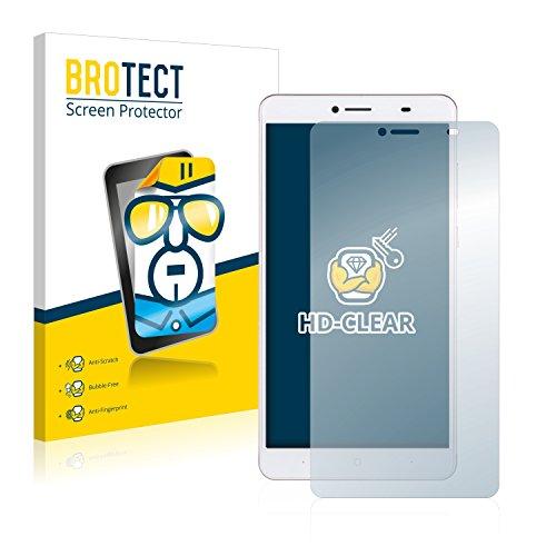 BROTECT Schutzfolie kompatibel mit Doogee Y6 Max [2er Pack] klare Bildschirmschutz-Folie