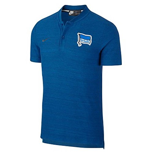 Nike Herren Hertha BSC T-Shirt, Gym Blue/Anthracite, L