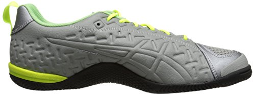 Asics Gel-Fortius 2 TR Damen Maschenweite Cross-Training Light Grey/Flash Yellow/Pistachio