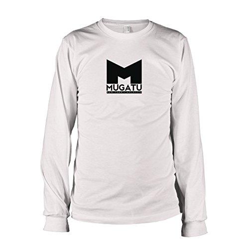 TEXLAB - Mugatu - Langarm T-Shirt, Herren, Größe XXL, weiß (Zoolander Hansel Kostüm)