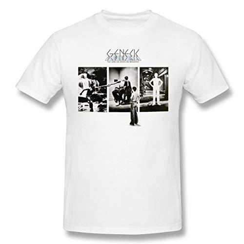 Fomente The Lamb Lies Down On Broadway Herren Weich T Shirt White M
