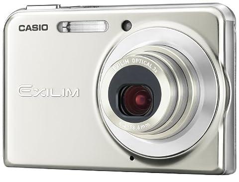 Casio EXILIM EX-S880 SR Digitalkamera (8 Megapixel, 3-fach opt. Zoom, 7,1 cm (2,8 Zoll) Display) silber