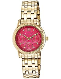 (Renewed) Giordano Analog Pink Dial Women's Watch-P2045-22