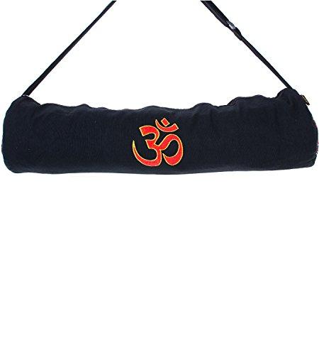 Kunst und Magie Yogatasche OM Motiv, Farbe:Black/Schwarz