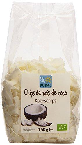 Pural Chips de Noix de Coco Séchés Bio 150g
