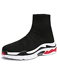2fded0a90087e2 GLSHI Men Socks Shoes Casual Fashion Couple Shoes Lightweight Breathable  Street Beat High Top Shoes