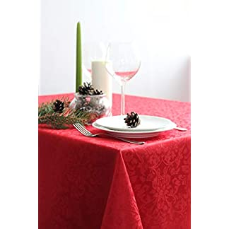 RusDecor Red Tablecloth