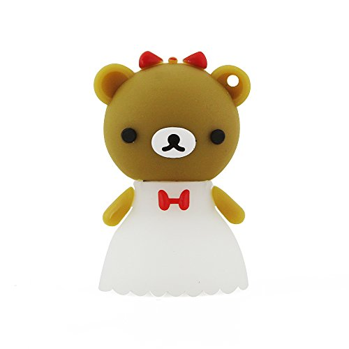 Aneew 16GB A Pair Bear Couple Bridegroom Bride USB Flash Drive Memory Stick Wedding Gift