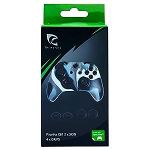 Xbox One – 2 Schutzhüllen und 4 Thumb Grips