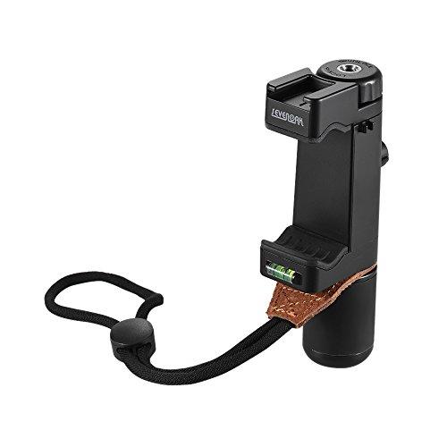 Andoer Sevenoak SK-PSC1 Hand Smart Grip SmartPhone Clip Clamp-Halter-Unterstützung Ständerrahmen Halterung Tripod Mount Adapter Hot-Shoe-Halterung für iPone 7 / 6s / 6 für Samsung Huawei Handy-Handy Smart Hände