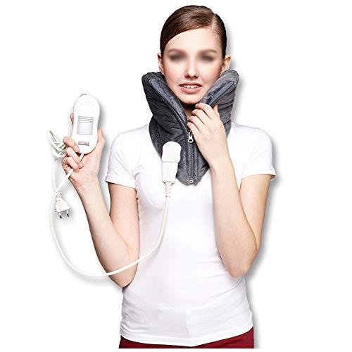 Wärmekissen Elektrisches Heizkissen für den Hals - Warmes Halswirbelsäule, automatische Abschaltung,konstante Temperatur bei DREI Geschwindigkeiten, älteres Massagegerät zur Schmerzlinderung (Elektrische Hals Heizkissen)